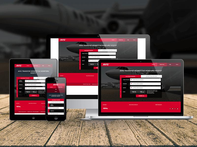 AVIS Havalimanı Transfer ve Şoförlü Araç Kiralama Web Sitesi ve Operasyon Yazılımı