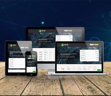 E-TİCARET-Koin Hesabım Kripto Para Marketi
