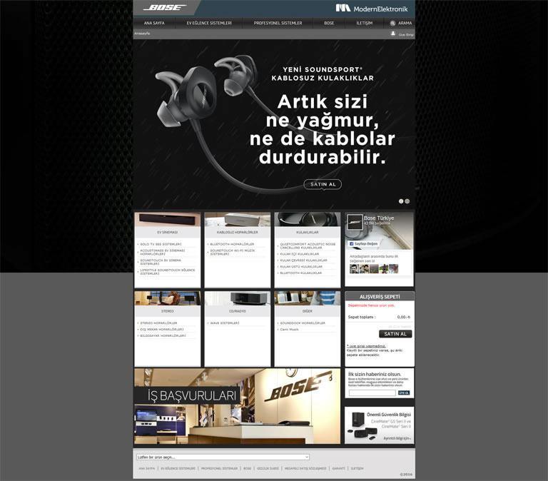 Modern Elektronik - Bose Türkiye