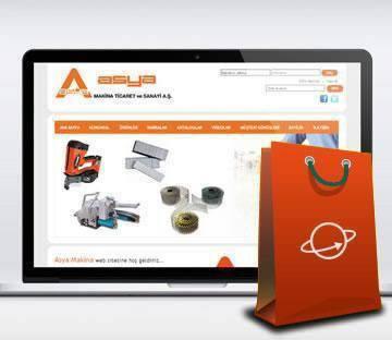 E-TİCARET-Asya Makina E-Ticaret Web Sitesi